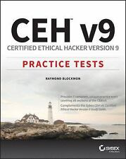 CEHv9 : Certified Ethical Hacker, Practice Tests by Blockmon (2016, Paperback)