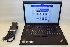 Lenovo Thinkpad Ultrabook x1 Carbon Core i5 1.8ghz 4GB 250GB SSD Win 7 64 Webcam