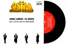 "ANNIE LENNOX AL GREEN - PUT A LITTLE LOVE IN YOUR HEART- 7""45 RECORD PICSLV 1988"
