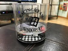 """Vintage Windows NT Racing Team 4"""" Plastic Cup With Hot Wheels Style Microsoft"""