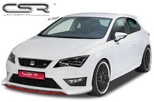 FRONT LIP SPOILER FRONT BUMPER SPLITTER FOR SEAT LEON III 5F from 2012 FA195