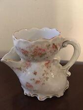 Antique Vintage Porcelain Shaving Mug Cup