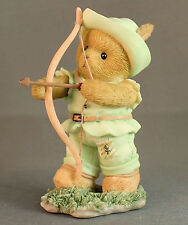 Cherished Teddies Figurine Robin Hood 40010996 Robin Hood Series Avon Exclusive