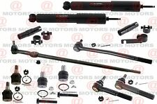 Tie Rods Upper Lower Ball Joints Shock Absorber For F-250 Super Duty RWD