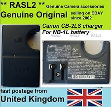 CANON Genuine Battery Charger CB-2LS  for NB-1L battery