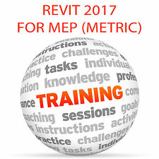 REVIT 2017 for MEP (Metric) - Video Training Tutorial DVD