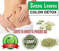 100 Capsules SENNA Leaves Herb Weight Loss Diet Pills Fat Burner Tea Wholesale