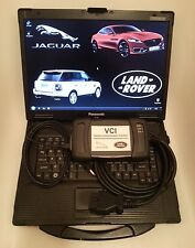 GENUINE JLR VCI - JAGUAR LANDROVER SDD / IDS Diagnostic Kit Panasonic CF-52 I5
