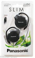 Panasonic RP-HS46K Ear-Hook Ultra Slim Headphones - Black