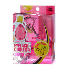 [KOJI] No 63 Wide 18R Curl & Keep Eyelash Curler With One Refill Pad Japan Made