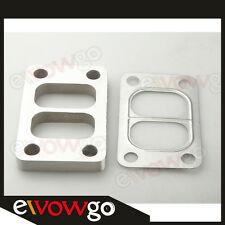 T3 T3/T4 T04E Divided SS304 Turbo Manifold Charger Flange + T304 SS Gasket