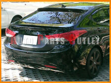 Select Color - Hyundai Elantra MD 4Dr OE-Type Trunk + Roof Spoiler Wing 11-14