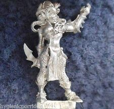 1999 Dark Elf Witch 1 Citadel Elven Army Drow Warrior Warhammer Priestess Khaine