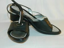 Stonefly Absolute Comfort Black Sandals Size 8 (39 EUC)