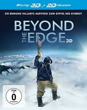 CHAD/SHERPA MOFFITT-BEYOND THE EDGE-SIR EDMUND HILLARYS AUFSTIEG 3D BLU-RAY NEW