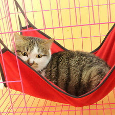 HOT Cute Pets Cat Dog Cages House Hammock Soft Bed Animal Hanging Pupply Ferret