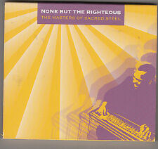 NONE BUT THE RIGHTEOUS - the masters of sacred steel CD