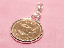 1944 73rd Birthday Farthing coin bracelet charm ready to hang 1944 birthday gift
