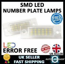 VW PASSAT B5 SALOON XENON WHITE LED NUMBER PLATE LAMPS UPGRADE BULBS CANBUS