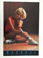 WORKOUT,SEXY TORIA, PHOTO BY MARSHALL HARRINGTON ,AUTHENTIC 1989 POSTER