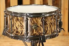 Gretsch Prototype Solid Tiger Ash Snare Drum 6.5x14 (video demo)