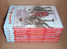 Lot of 7 Canadian Flyer Adventures Books by Frieda Wishinsky Hardcover NEW