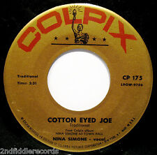 NINA SIMONE-Trouble In Mind+Cotton Eyed Joe-Northern Soul 45-COLPIX #CP 175