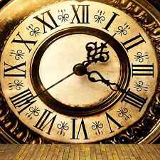 New Year Clock 8'x8' CP Backdrop Computer printed Scenic Background CM-4792
