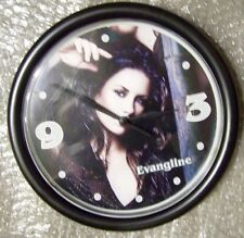 "EVANGELINE LILY 9"" - FROM THE TV SHOW LOST - NOVELTY CLOCK"