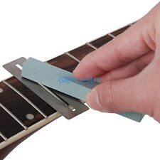 Guitar Bass Fret Protector Guards & Fretwire Sanding Neck Polish Luthier Tool