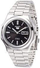 Seiko Men's 5 Automatic SNKK47K Silver Stainless-Steel Automatic Watch