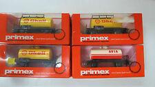 4 x Kesselwagen Shell Avia Märklin Primex 4540 4579 Spur H0 OVP (UW)