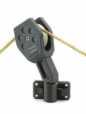 Boat Anchor Pulley Removable Crab Pot Pulley Boating Accessories w/ Mount Folbe