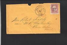 DAVENPORT, IOWA COVER.    SCOTT COUNTY 1836/OP