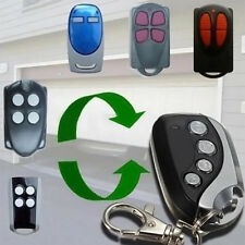 Electric Cloning Universal Car Gate Garage Door Remote Control Key Fob 433MHz
