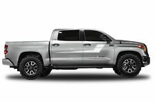 Vinyl Decal Side Stripe Wrap for Toyota Tundra CrewMax Pickup 14-16 Matte White