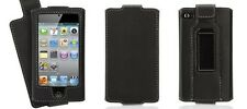 GRIFFIN Elan Convertible iPod Touch 4th Flip Top Faux Leather Case w Belt Clip