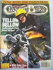 Classic Bike Magazine. No. 174. July, 1994. Decibel delight: V-twin Ducati 750 S