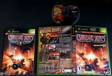 CRIMSON SKIES HIGH ROAD TO REVENGE Xbox Video Game Complete with Manual & Case