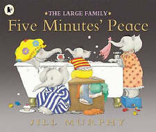 Five Minutes Peace (The Large Family) by Jill Murphy - Book, New