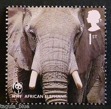 """African Elephant"" illustrated on 2011 Stamp - U/M"