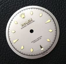 VINTAGE ROLEX Refinished DIAL BIG SEMI BUBBLE BACK FOR A260 A296 Movement
