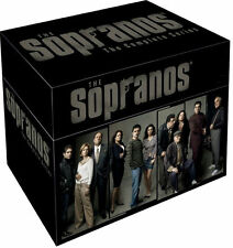 The Sopranos - Series 1-6 - Complete (DVD, 2009, 28-Disc Set, Box Set)