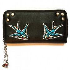 Swallow Bird 50's Retro Style Purse Wallet Banned Apparel Emo Gothic Kawaii