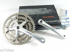 Campagnolo Triple Crankset Record 10 Speed 172.5mm * 53/42/30 Ultra Drive NOS