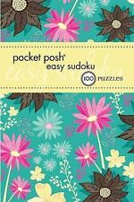 Pocket Posh Easy Sudoku 3: 100 Puzzles, The Puzzle Society, New Condition