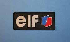 `ELF MOTOR SPORT`SEW OR IRON ON PATCH