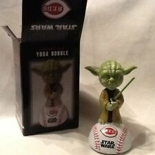 Yoda Cincinnati Reds Star Wars Night Bobblehead! 2016 giveaway!