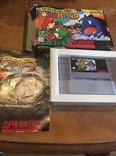 Super Mario World 2: Yoshi's Island (SNES, 1995) Complete In Box Manual Game CIB