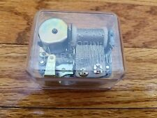 Robin's Clear See Thru Music Box Replacement Movement- Hound Dog